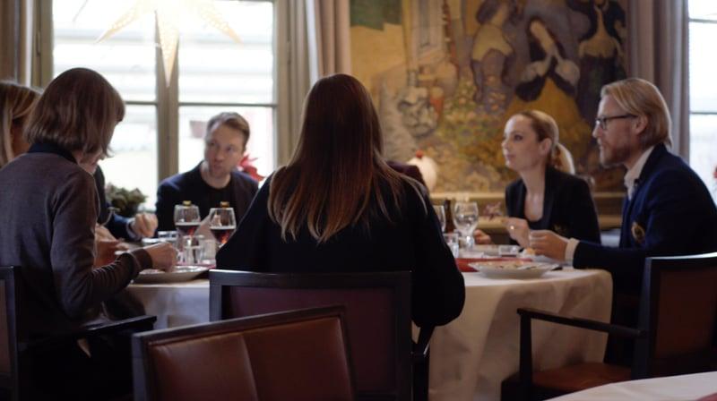 iGoMoon Christmas lunch Sunsanne Rönnqvist Ahmadi
