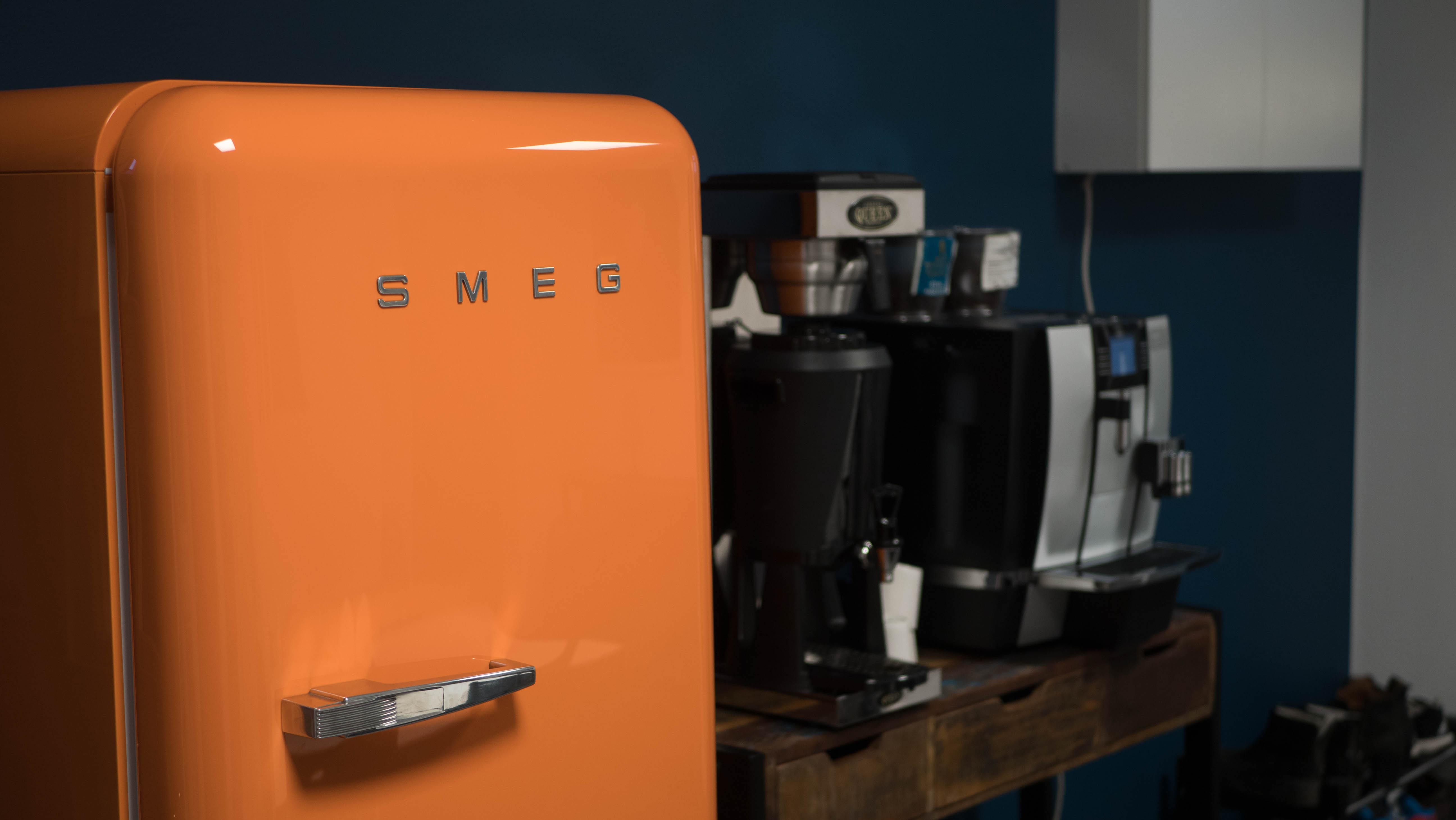 Our beloved Smeg refrigerator